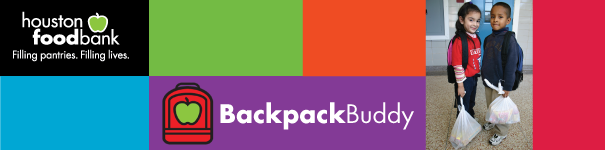 Image result for houston food bank backpack buddy