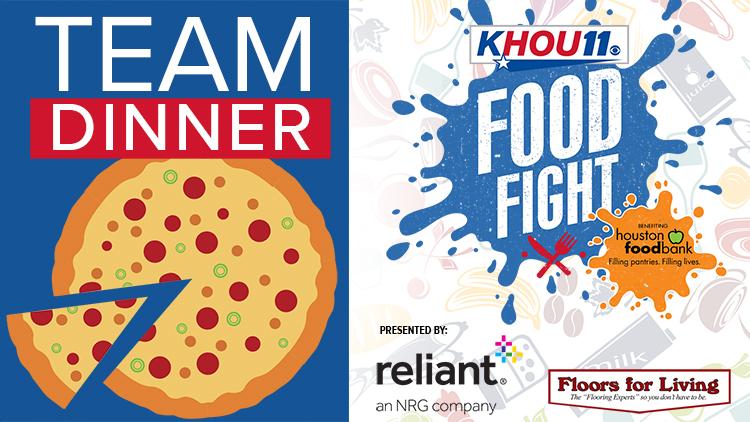 Team Dinner KHOU 11 - Houston Food Bank