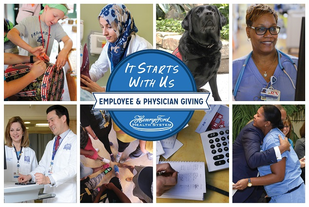 2018 Employee Giving - Henry Ford Health System