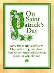 Click here for more information about Green Script St. Patrick's Day Card