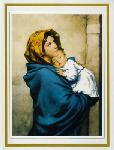 Click here for more information about Madonna and Child Deluxe Folder - Navy