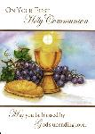 Click here for more information about Chalice & Host First Communion Card