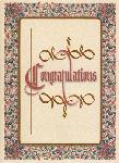 Click here for more information about Congratulations Happy Occasion Card