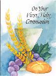 Click here for more information about Chalice & Wheat First Communion Card