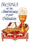 Click here for more information about Chalice Ordination Anniversary Card
