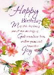 Click here for more information about Floral Birthday Card