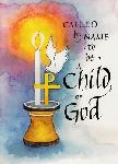 Click here for more information about Child of God Baptism Card