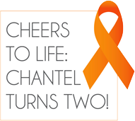 Chantel Turns 2 Logo