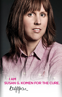 I am Susan G. Komen For The Cure
