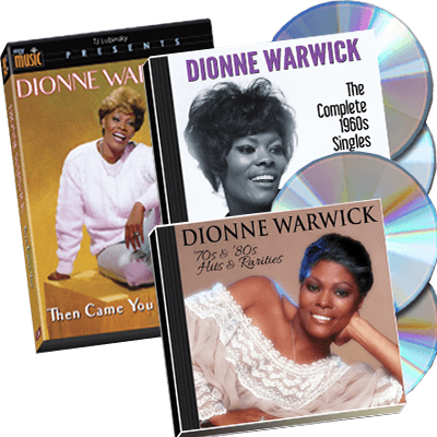 Dionne Warwick - The Complete 1960s Singles Plus [PBS only release