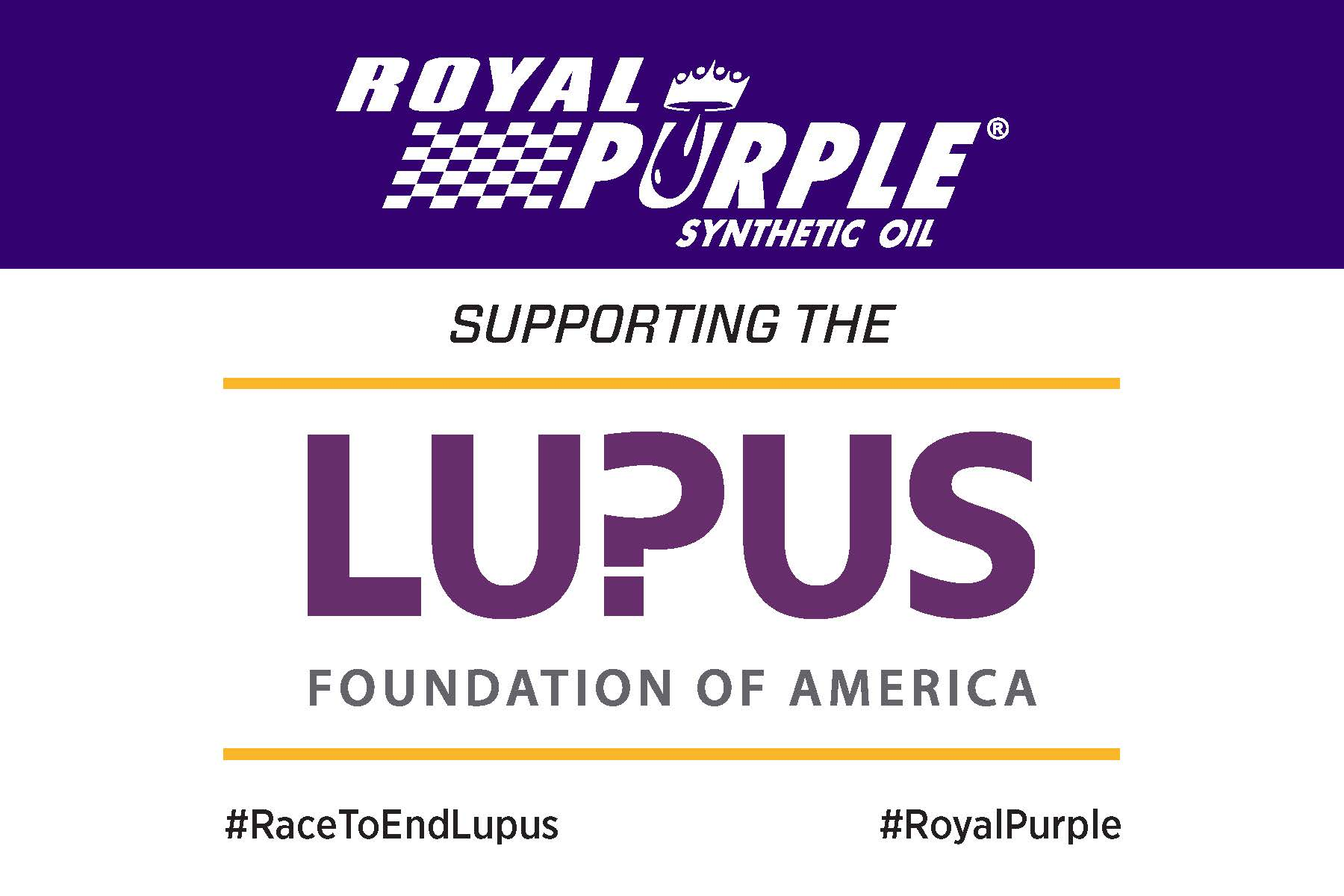 Royal Purple Grand Prix Race Sticker