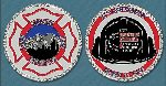 2018 Scott Firefighter Stairclimb Challenge Coin