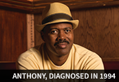 Anthony, diagnosed in 1994