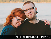 Kellen, diagnosed in 2010