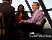 Ray, diagnosed in 2003