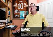 David, diagnosed in 1998