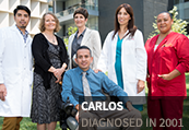 Carlos, diagnosed in 2001