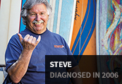 Steve, diagnosed in 2006