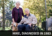 Mike, diagnosed in 1983
