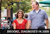 Brooke, diagnosed in 2009
