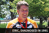 Eric, diagnosed in 1991