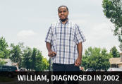 William, diagnosed in 2009
