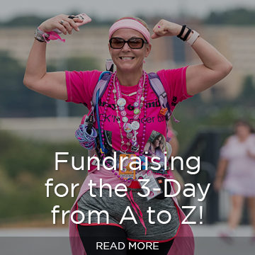 Fundraising for the 3-Day from A to Z!