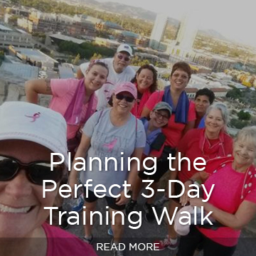 How to plan the perfect 3-Day Training Walk