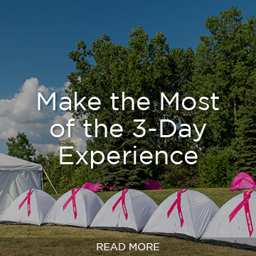 Make the Most of the 3-Day Experience