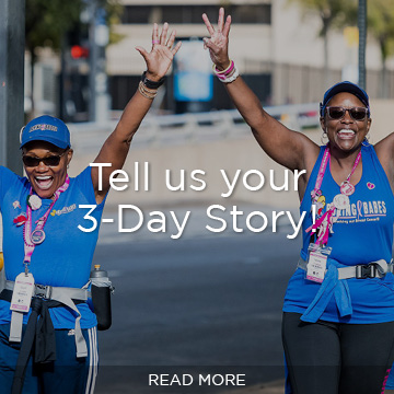 Tell us your 3-Day Story!