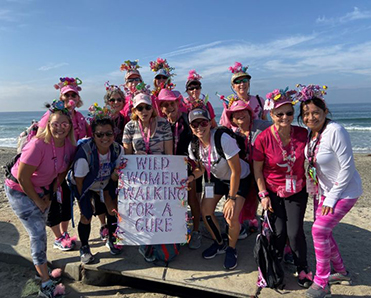 The Sisterhood of Wild Women Walking for a Cure
