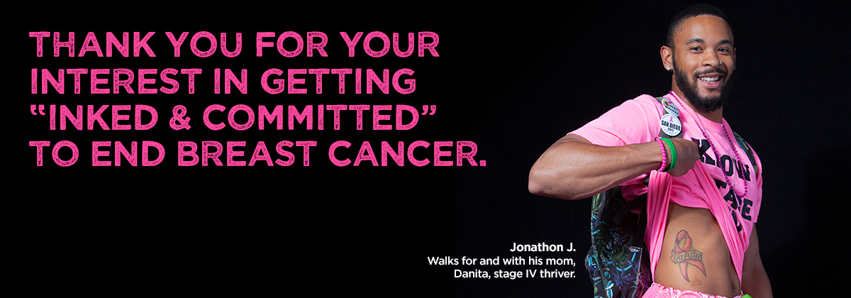 Make a Commitment to End Breast Cancer