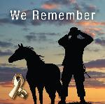 Click here for more information about 2017 Animals in War Commemorative Pin (Horse)