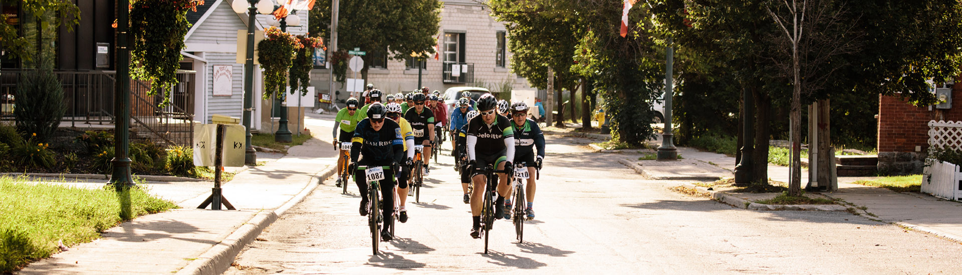 The Ride participants