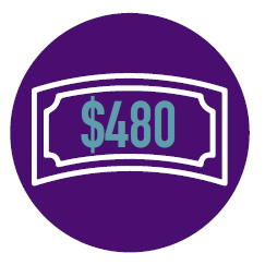 Raised $500 Badge