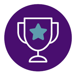 Reached Fundraising Goal badge