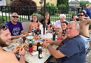John Edwards Family Dinner