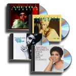Click here for more information about Aretha Franklin Remembered 4 CD Set - The 60s, The 70s, Knew You Were Waiting 1982-1998, The Great Diva Classics