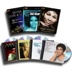 Click here for more information about Aretha Franklin 4 CD Set + 3 DVD Set