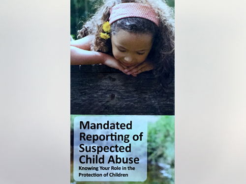 Stephanie King - BR-16-01_Mandated Reporting of Spected Chil