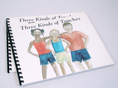 Stephanie King - ER-99-27_Three Kinds of Touches Book - Engl