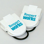 Click here for more information about SP-09-04 - Respect Works Cubicle Clip (per pack of 5)