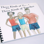 ER-99-27 - Three Kinds of Touches Book - English Braille