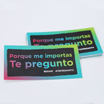 "Click here for more information about SP-19-13 - ""Te Pregunto"" Stickers Spanish (20 pack)"