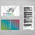 "Click here for more information about SP-19-14 - ""Te Pregunto por consentimiento"" Palm Card (50 pack)"