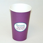 SP-08-01 - Prevent Sexual Violence Hot/Cold Cups (per pack of 50)