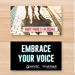 Click here for more information about SP-18-06 - Understanding Sexual Violence Palm Card (50 pack)