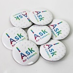 "Click here for more information about SP-19-04 - ""I Ask"" Buttons (25 pack)"