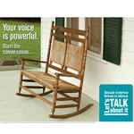 SP-14-03 - Let's Talk About it: Rocking Chair Poster