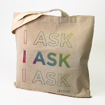 "Click here for more information about SP-19-03 - ""I Ask"" Tote - While Supplies Last"